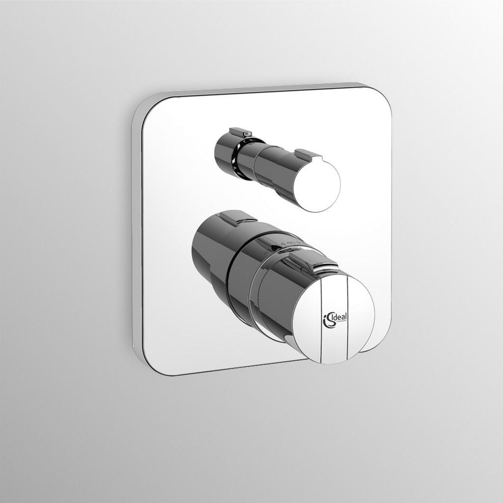 Miscelatore termostatico da incasso per doccia