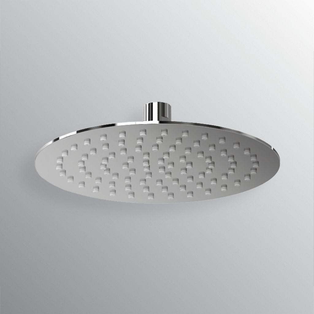 Soffione tondo ultrasottile diametro 250mm
