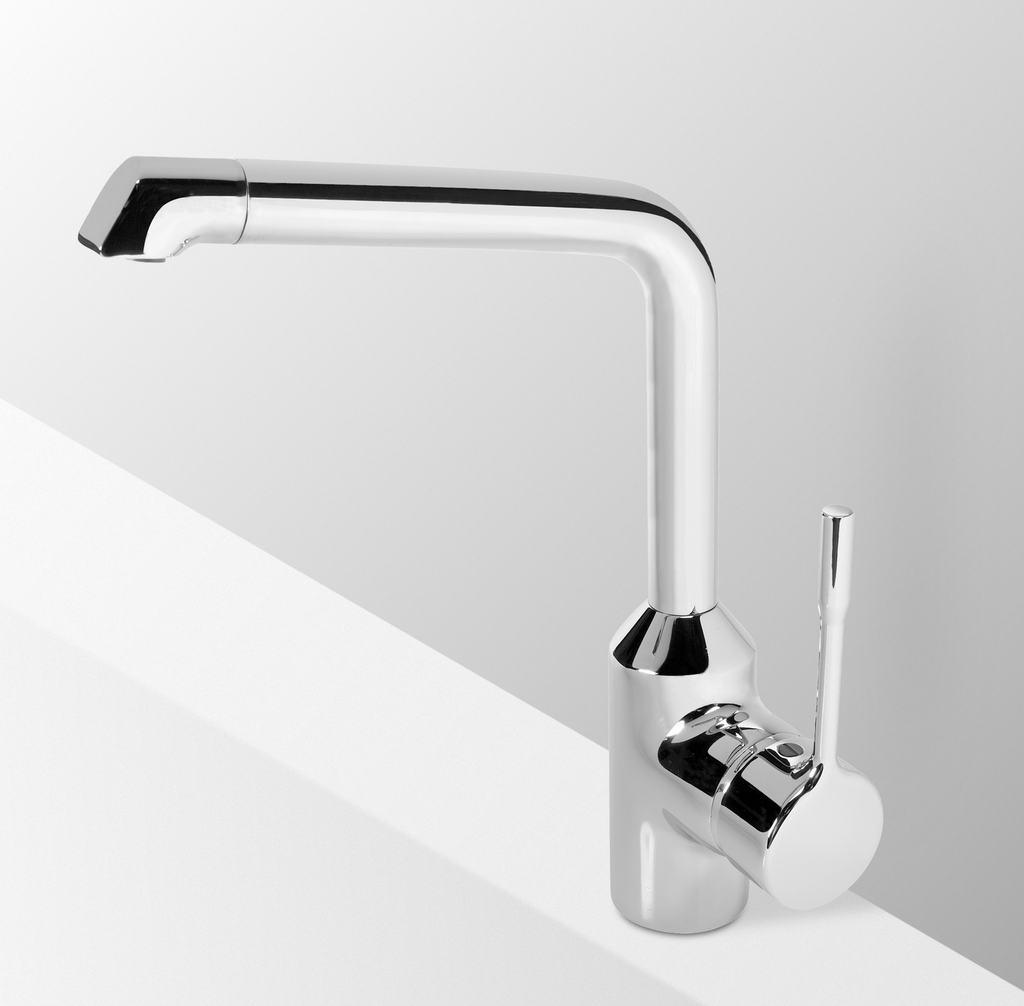 Dettagli del prodotto: B8985 | RETTA - Miscelatore per lavello da ...