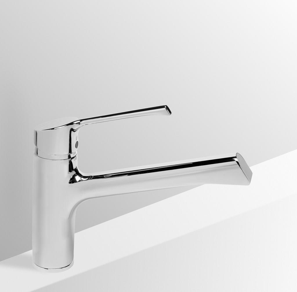 Dettagli Del Prodotto B8981 Retta Miscelatore Per Lavello Da Cucina Ideal Standard