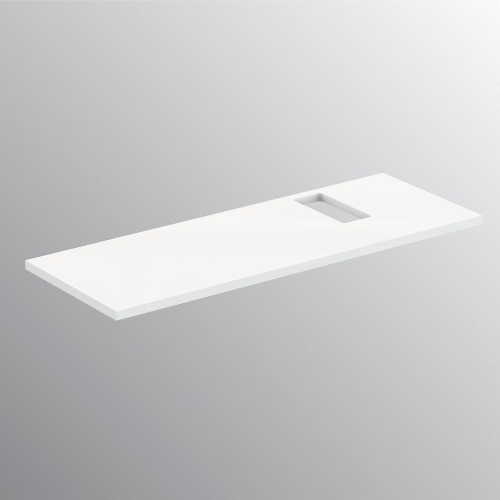 Top per lavabi tradizionali 120 cm