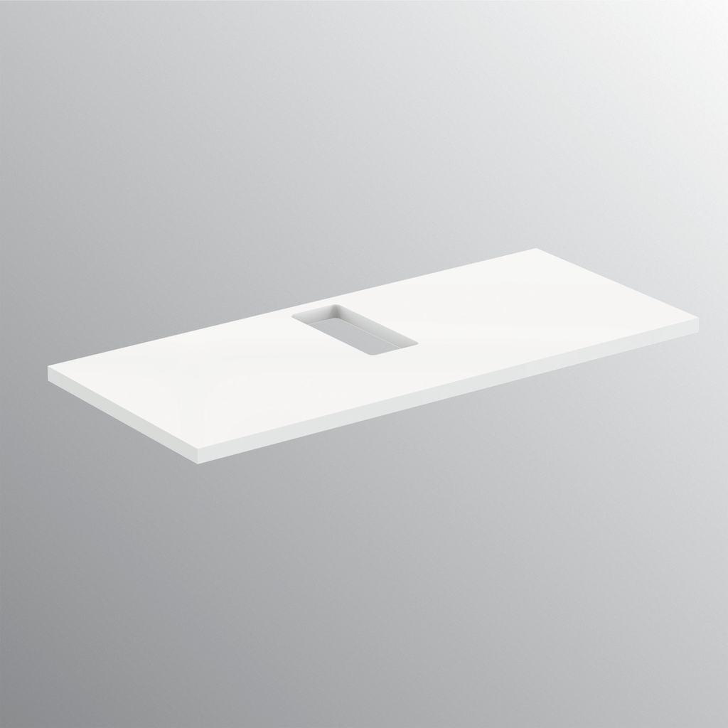 Top per lavabi tradizionali 100 cm
