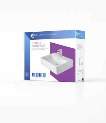 CONNECT - комплект 5 в 1 Бял