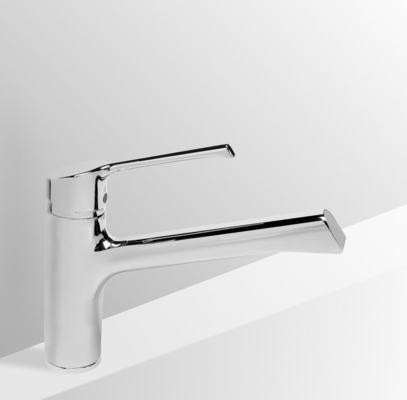 rubinetteria da cucina retta miscelatore per lavello da cucina