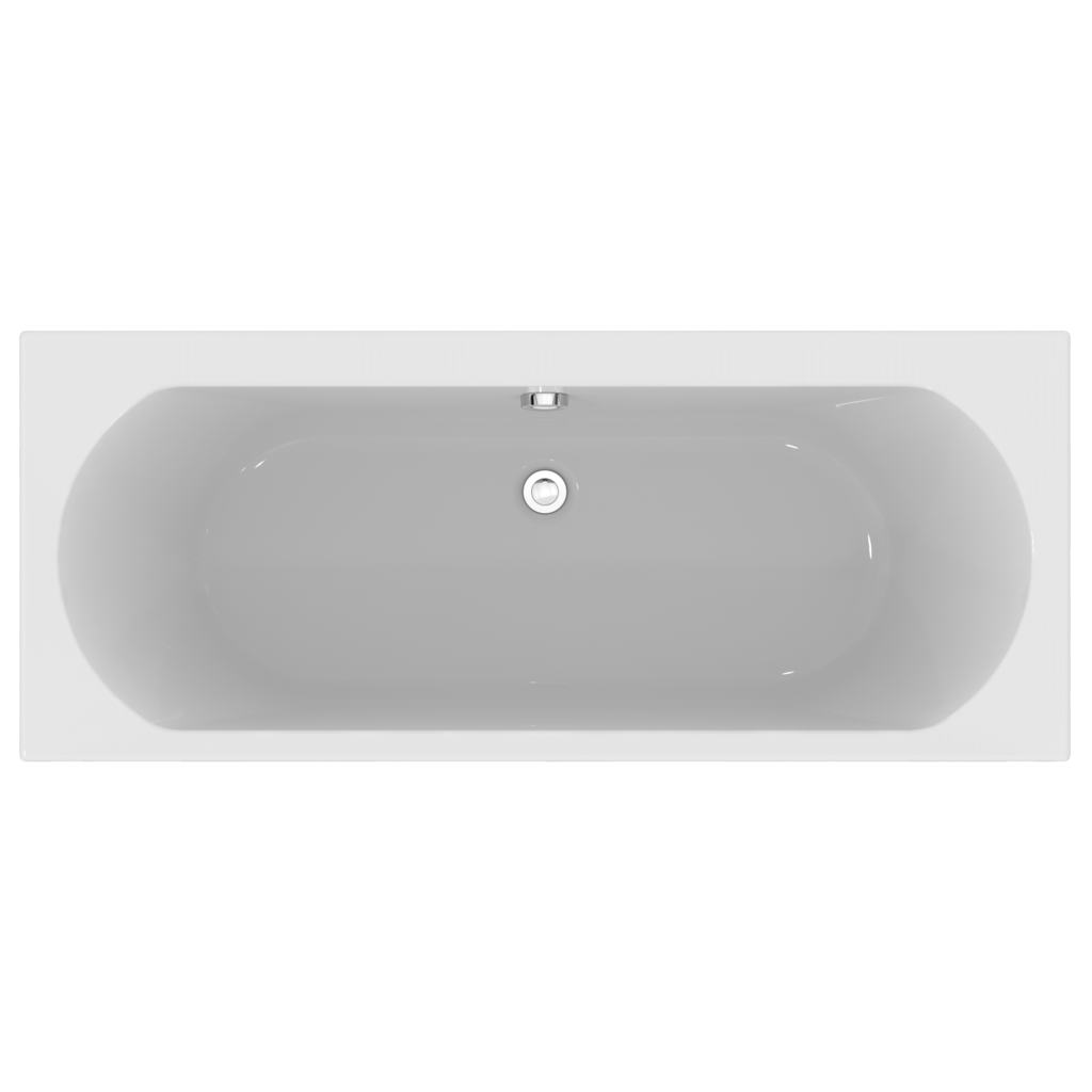 170x70cm Double Ended Water Saving Bath