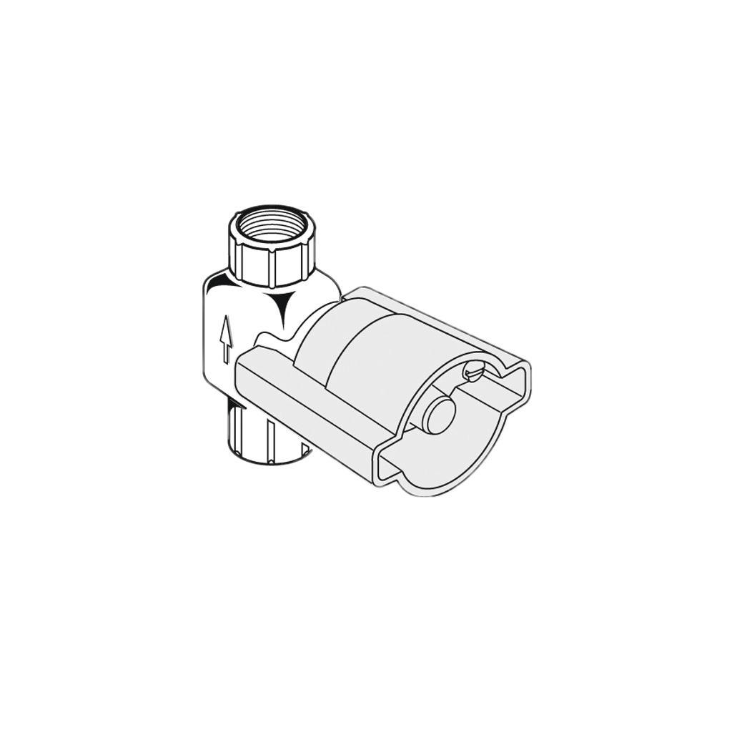 """Вентиль, встраиваемая часть G1/2"""" резиновый клапан"""