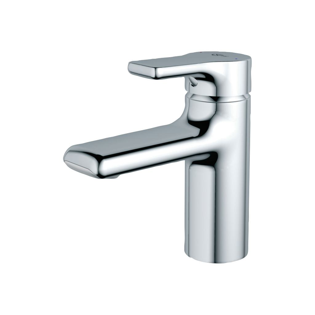 Basin Mixer with Classic Outlet and Pop up Waste