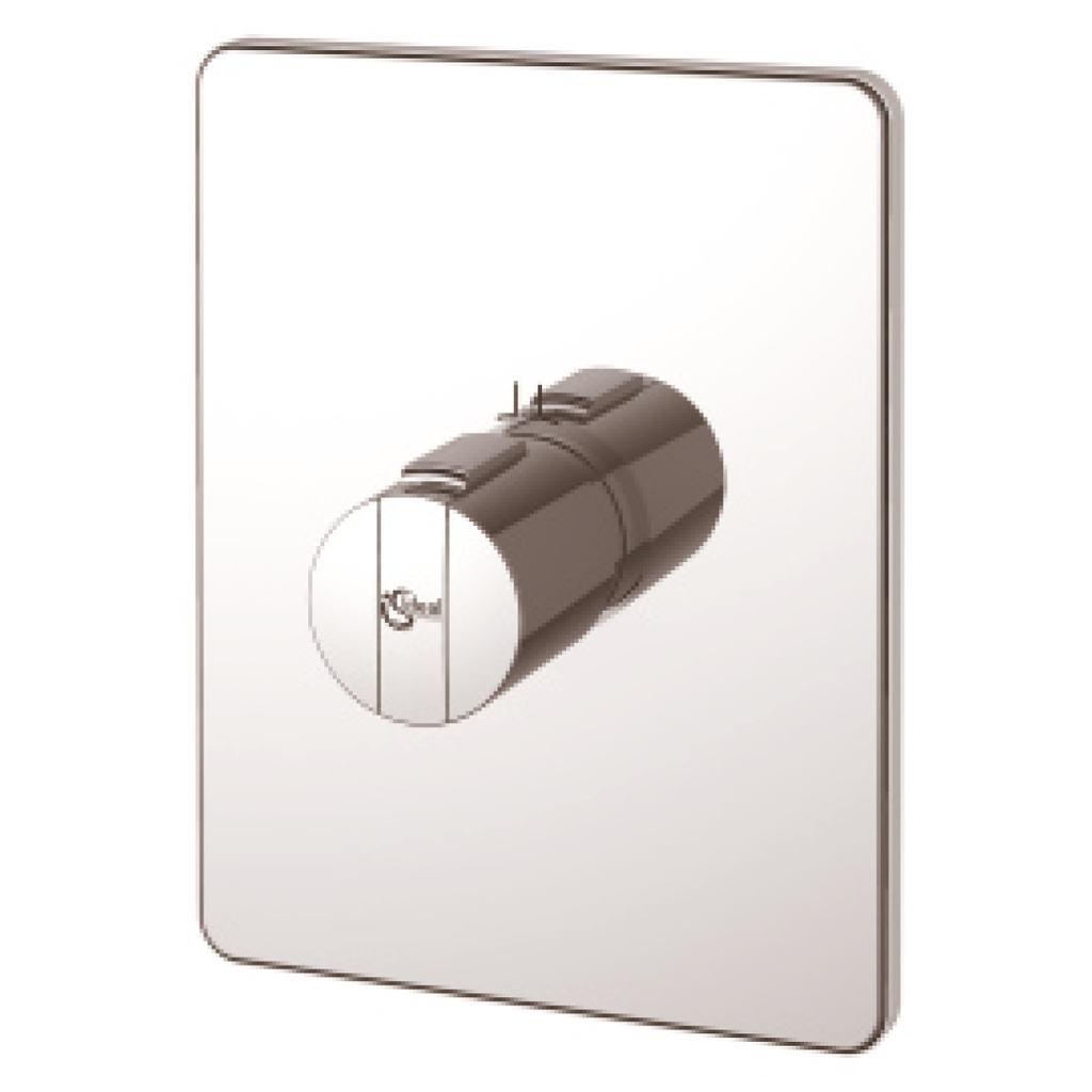 Miscelatore termostatico ad incasso centrale