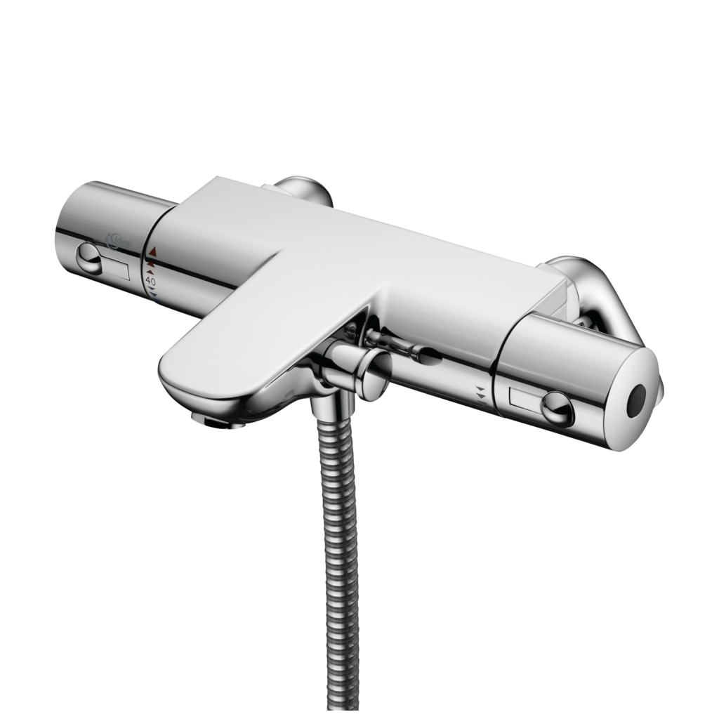 Thermostatic Two Hole Bath Shower Mixer