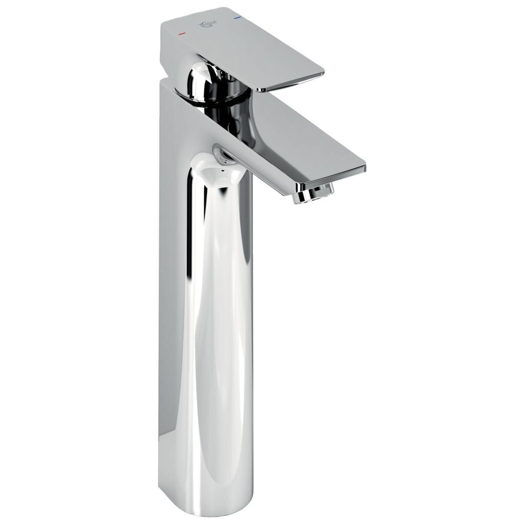 Mitigeur lavabo réhaussé monotrou