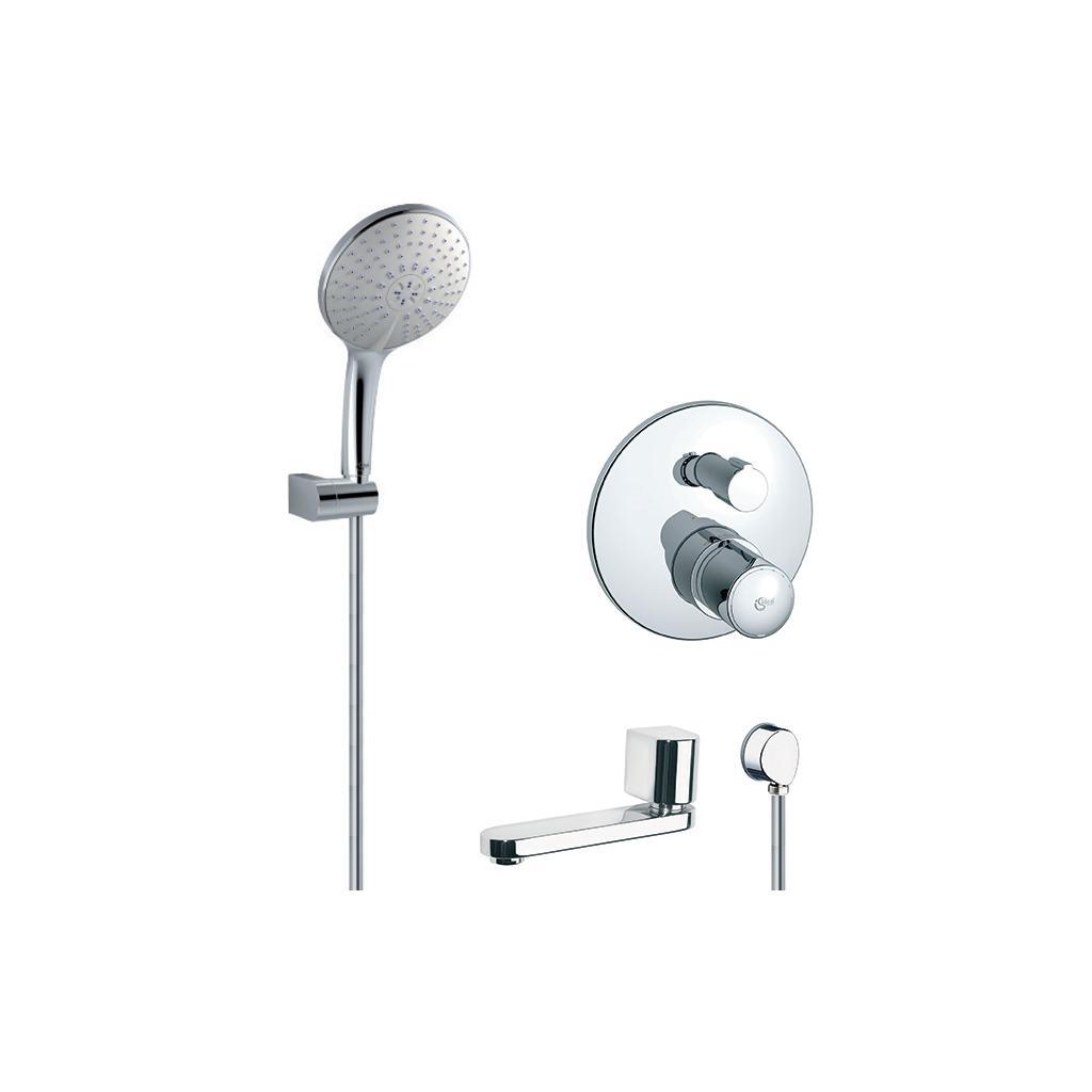 Kit modèle à encastrer & Set de douche & Bec baignoire