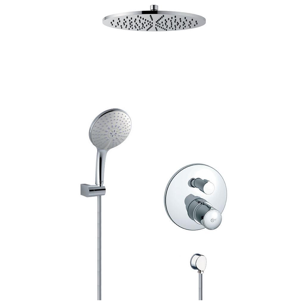 Kit modèle à encastrer & Setde douche & Pomme de tête
