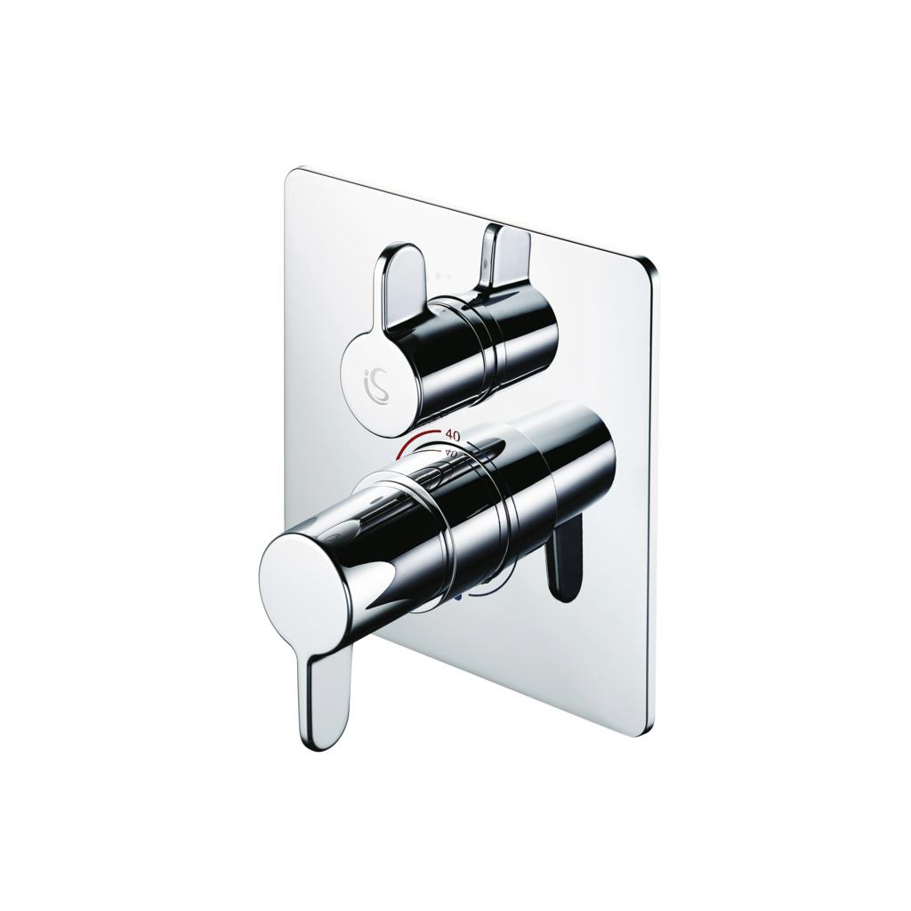 Easybox Slim Built In Thermostatic Shower Mixer with Diverter