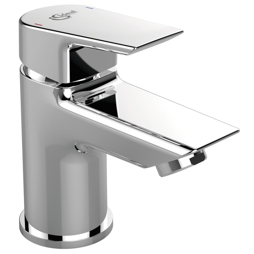 single lever mini basin mixer no waste