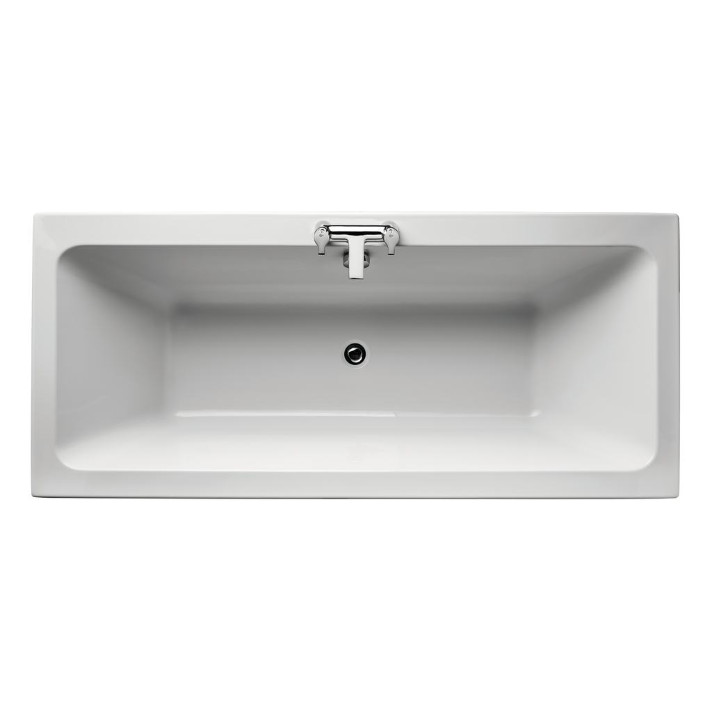 Cube 180x80cm Double Ended Bath