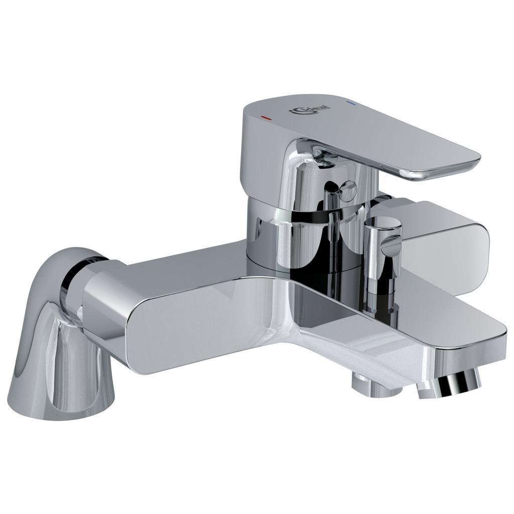 Mitigeur bain-douche colonnettes