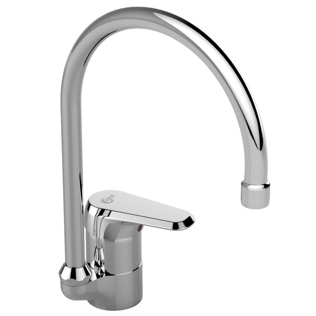 Dettagli del prodotto: B0893 | Miscelatore da appoggio su lavello ...