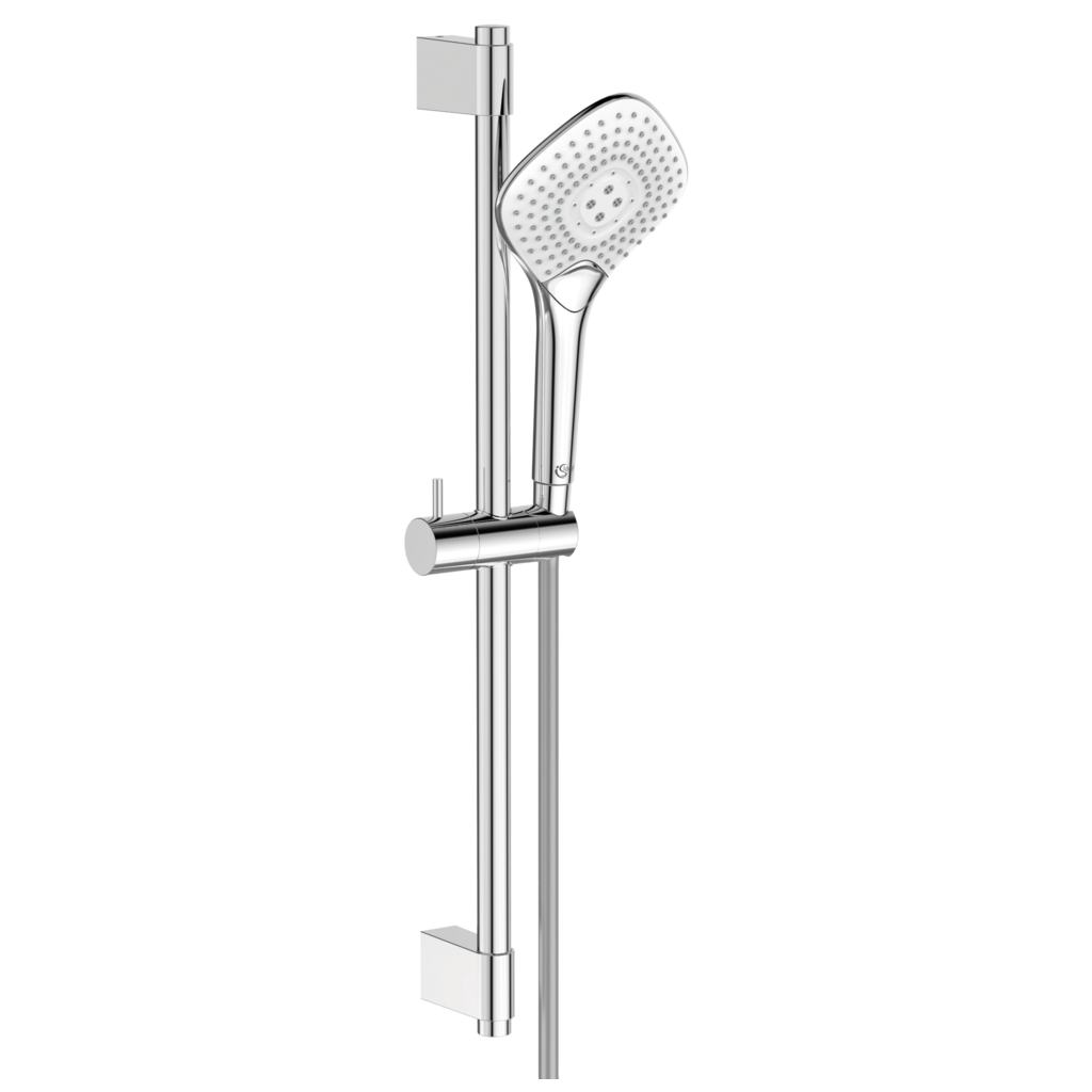 Diamond Hand shower 134 mm and Rail kit 600 mm