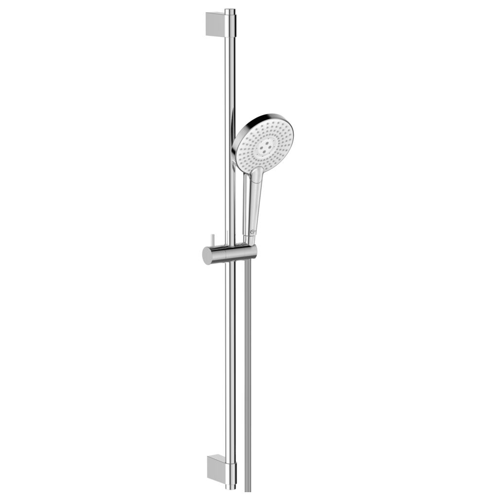 125mm Three Function Round Shower Kit