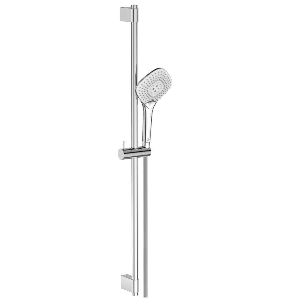 125mm Three Function Diamond Shower Kit