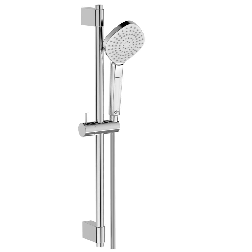 110mm Three Function Diamond Shower Kit