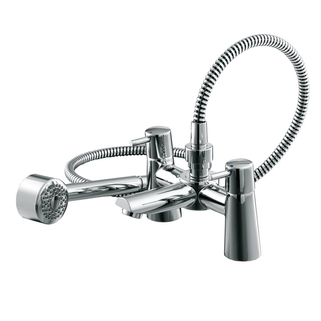Dual Control Bath Shower Mixer with Shower Set