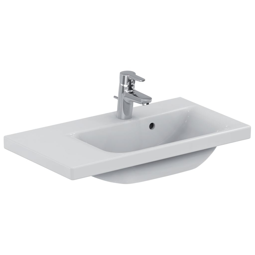 Lavabo-plan 70 x 38 cmversion gauche