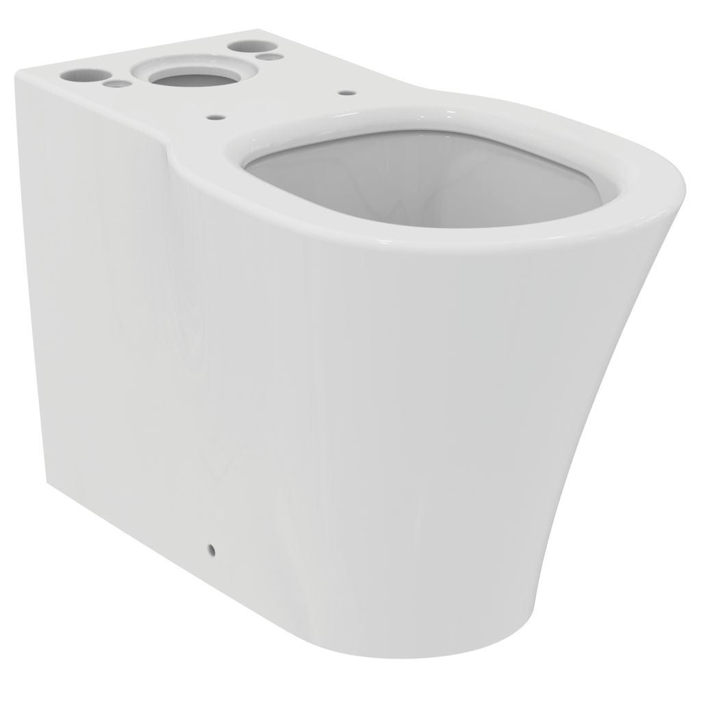 CONNECT AIR AquaBlade® Напольный пристенный унитаз для монтажа с бачком