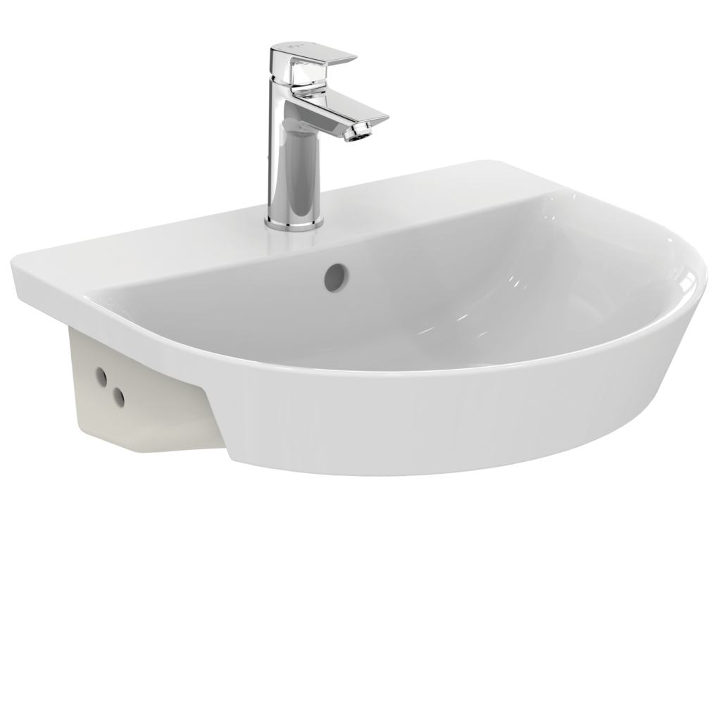 Arc 50cm semi-countertop basin - one taphole