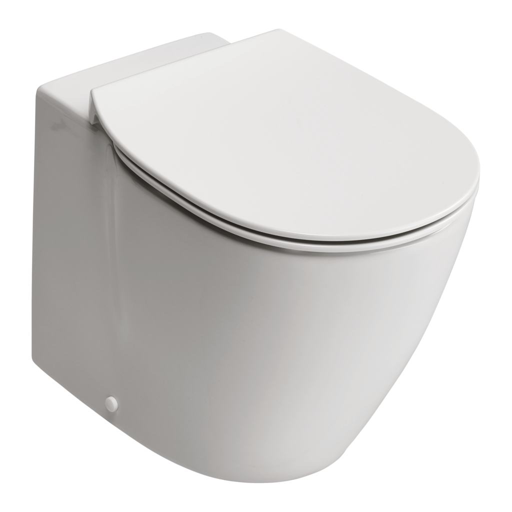 Back-to-Wall WC Bowl with Aquablade technology - horizontal outlet