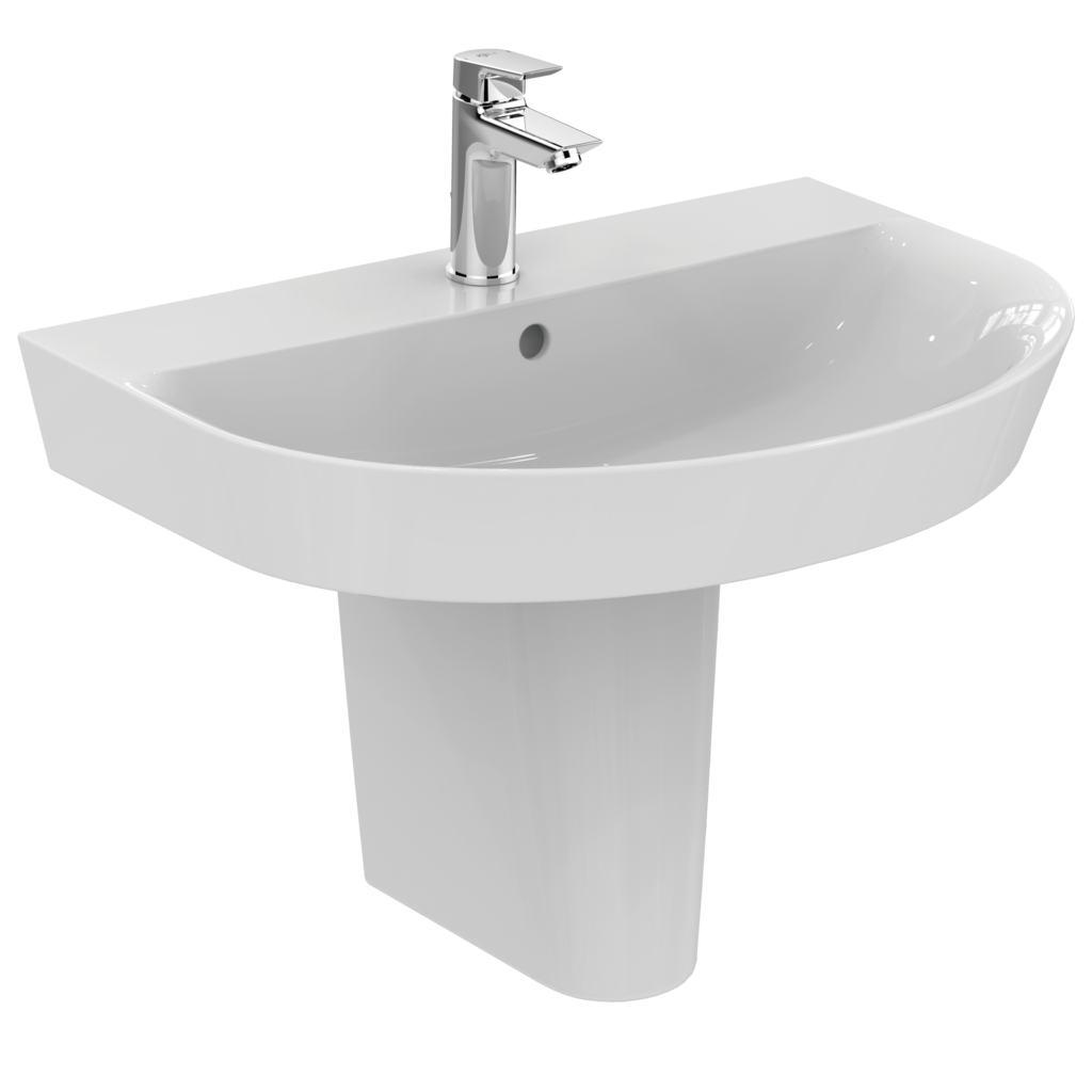 Lavabo 3d Dwg.Ideal Standard E1355 Washbasin Arc 65 Cm