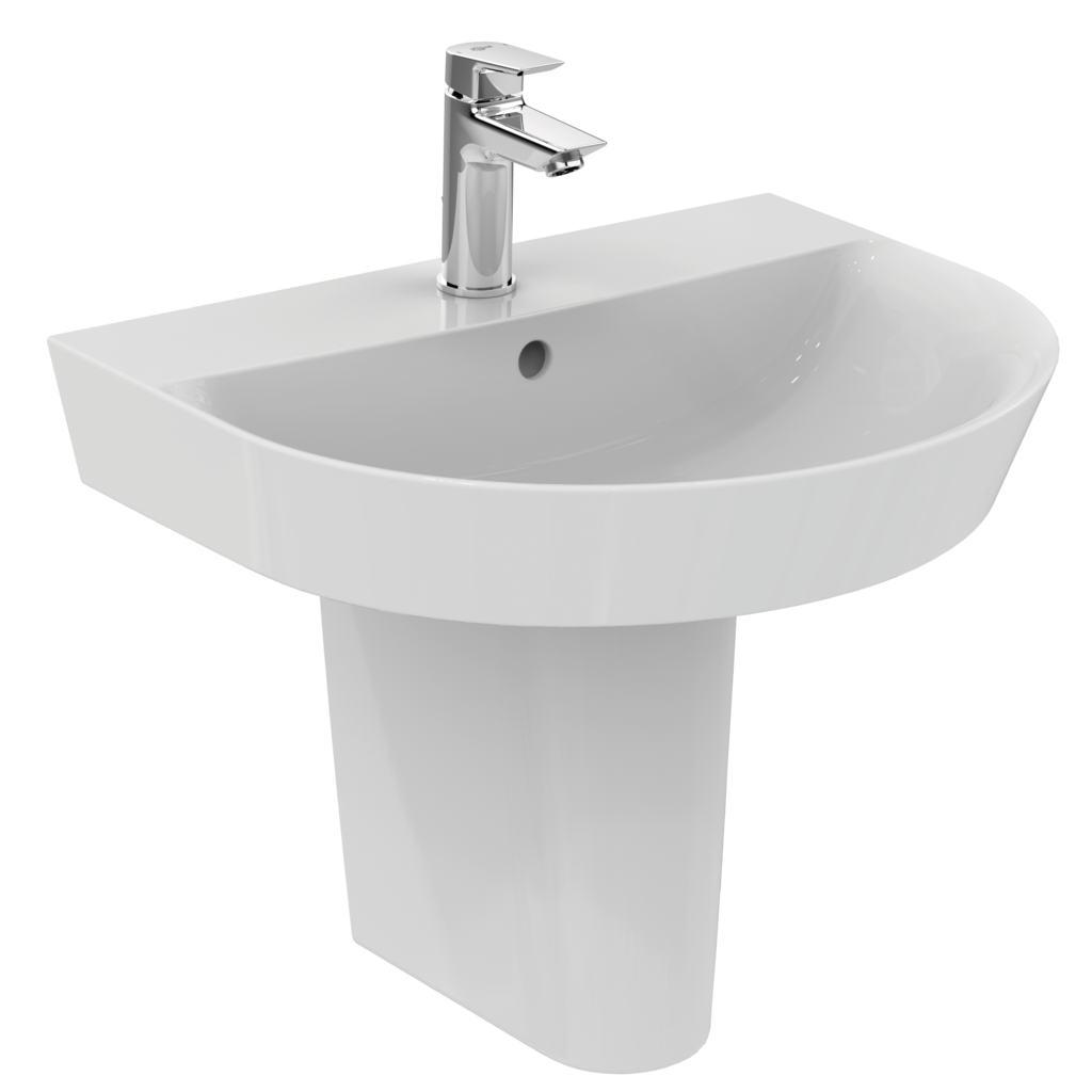 dettagli del prodotto e1379 lavabo arc 55 cm ideal standard. Black Bedroom Furniture Sets. Home Design Ideas