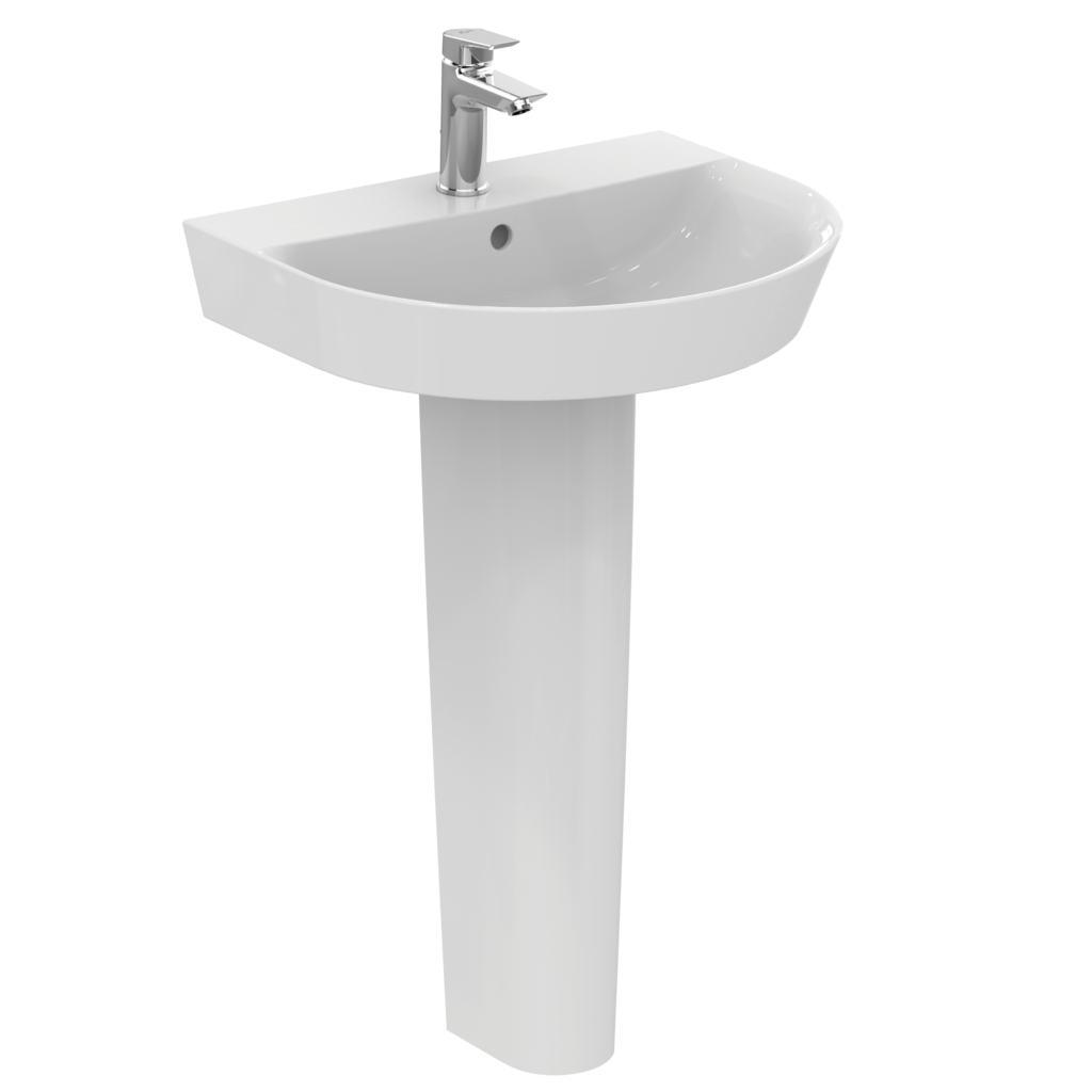 Arc 55cm pedestal basin - one taphole