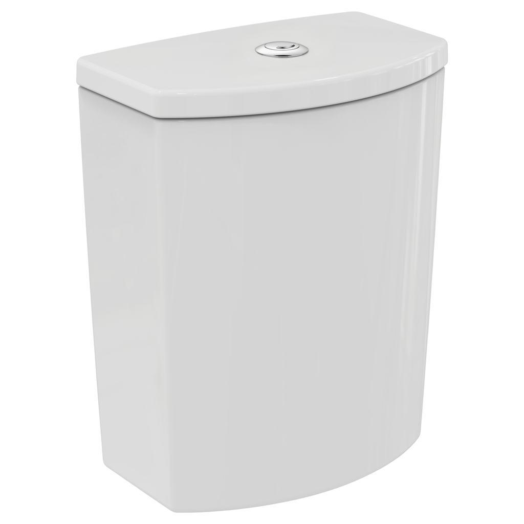 Arc close coupled cistern with dual flush valve - 4/2.6 litre