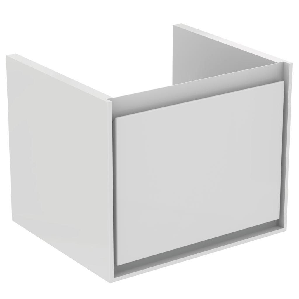 55CM Cube WH Basin unit 1 drawer