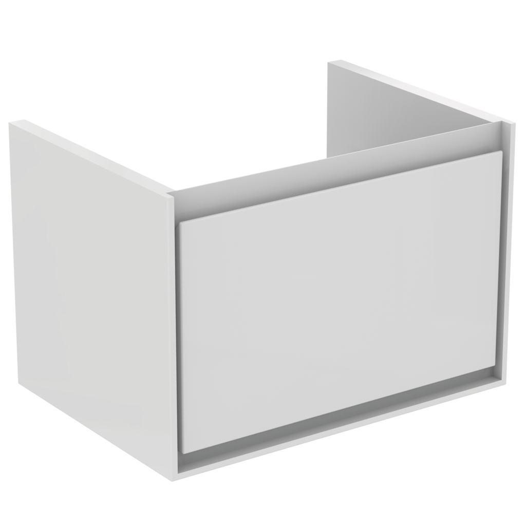 CONNECT AIR CUBE Подстолье для умывальника 65 см, для подвесного монтажа, с 1-м ящиком