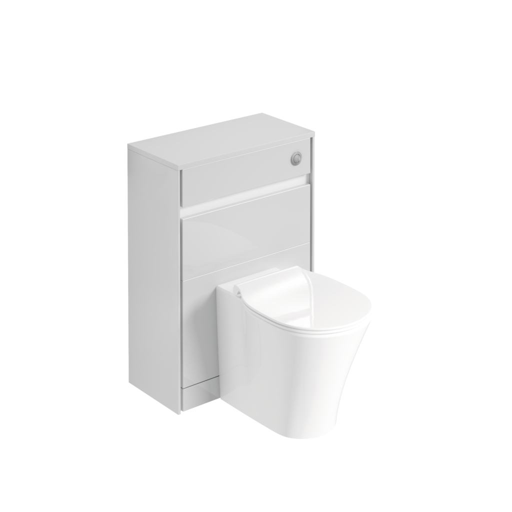 60CM WC unit with concealed cistern