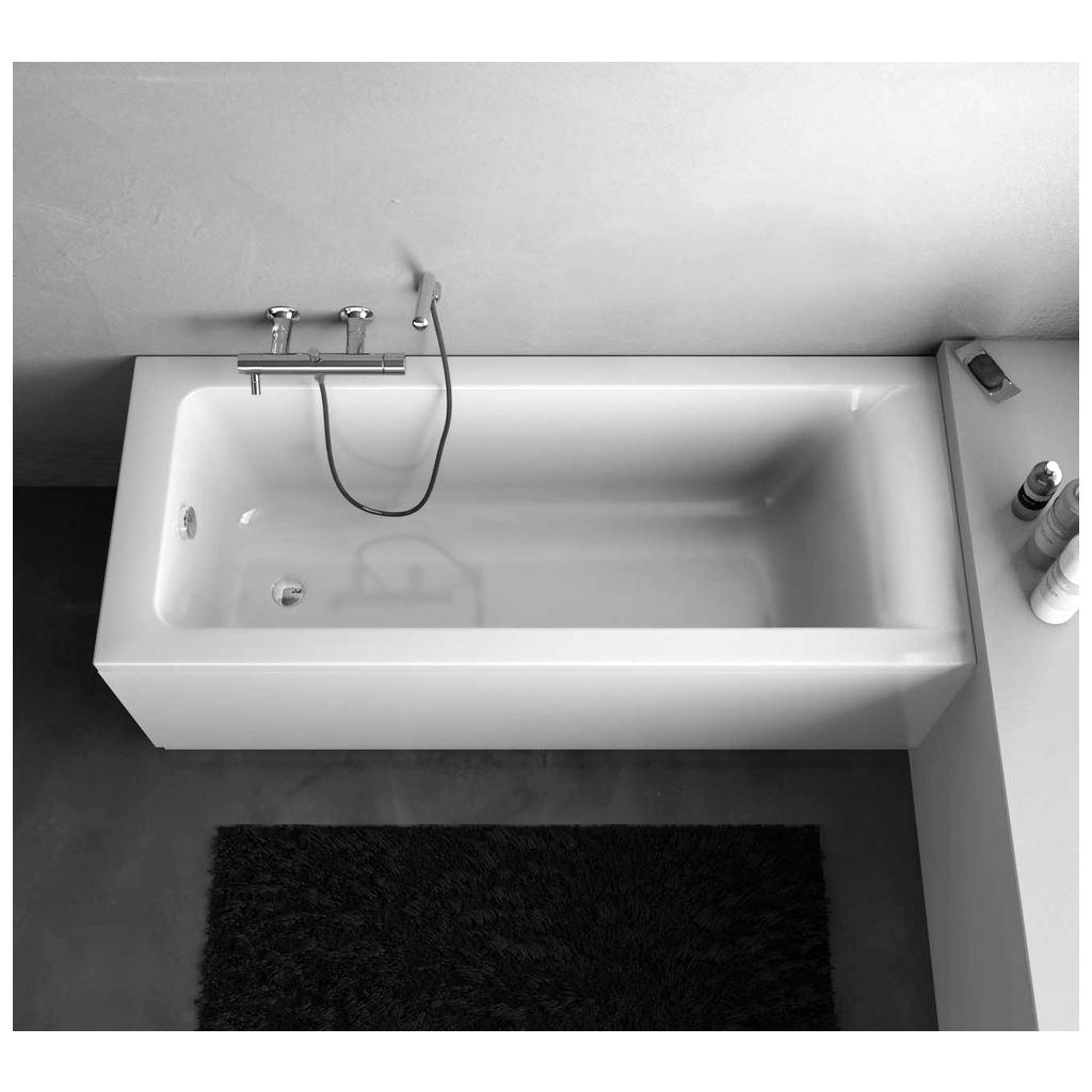 Dettagli del prodotto: E1256 | Vasca Rettangolare Pannellata 160 X ...