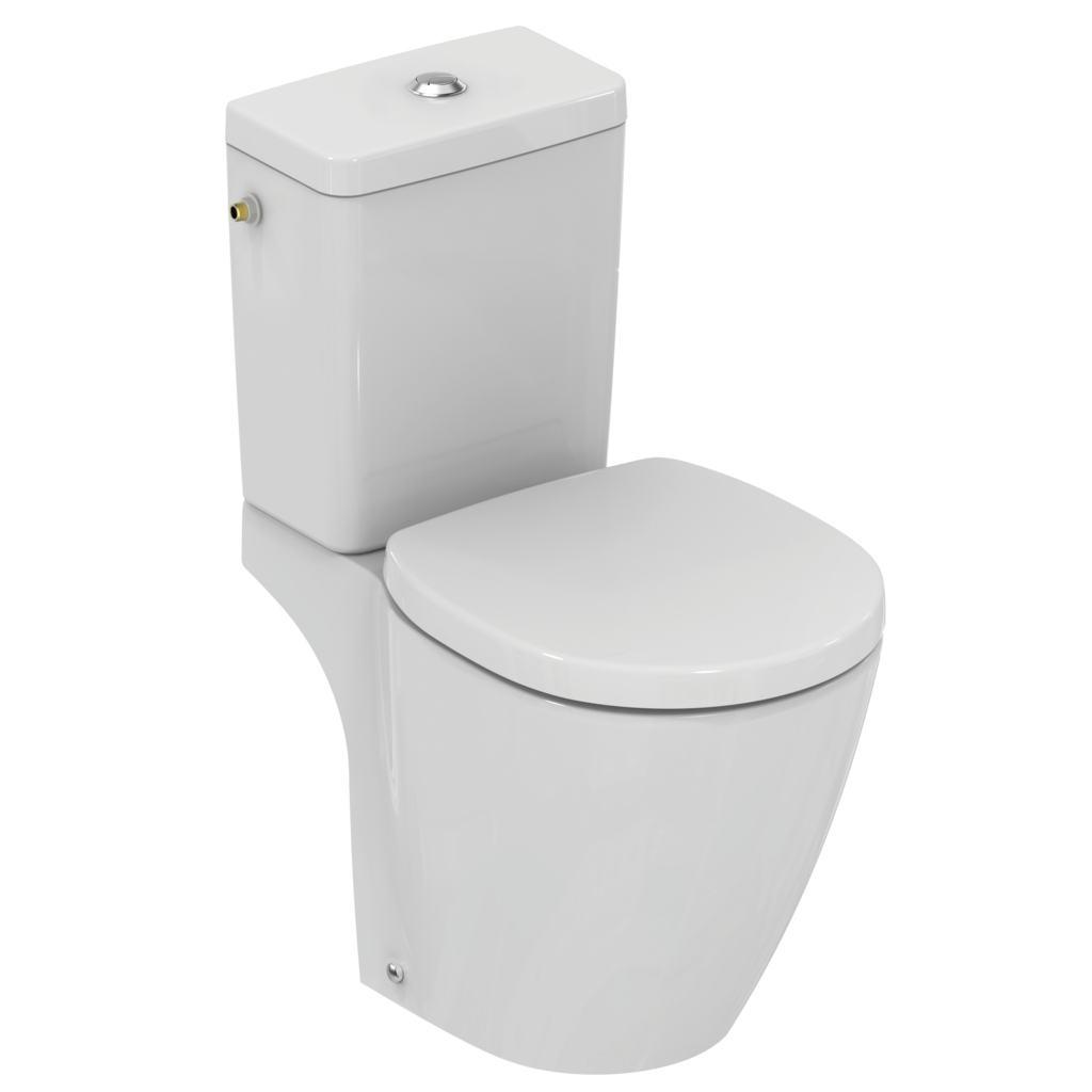 """Pack WC """"Prêt à poser"""" avec abattant frein de chute"""