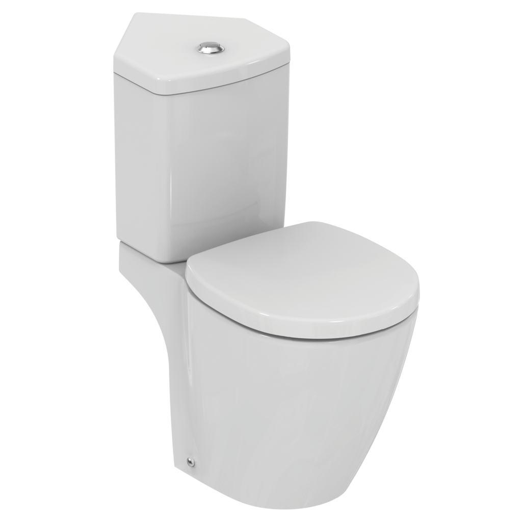 """Pack WC """"Prêt à poser"""" avec abattant"""