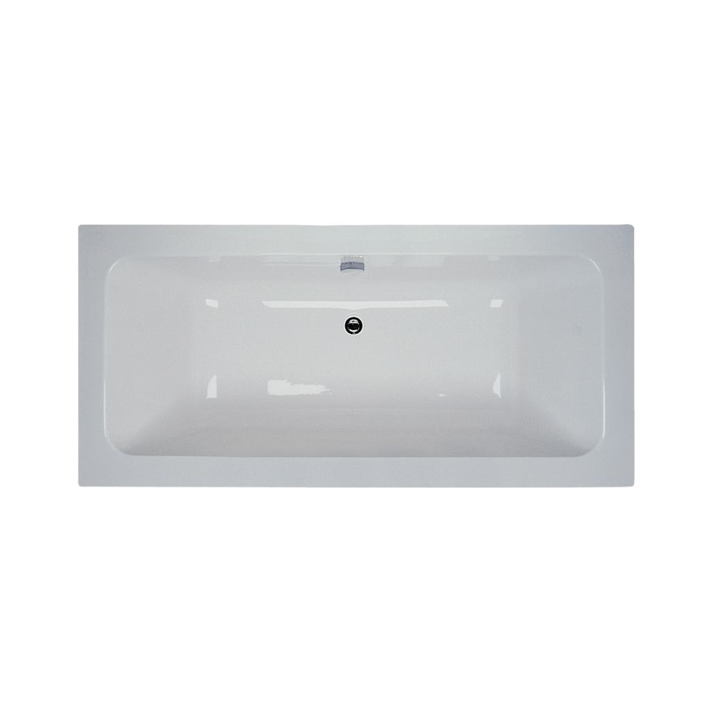 Cube 170x80cm Idealform Plus+ Double Ended Bath
