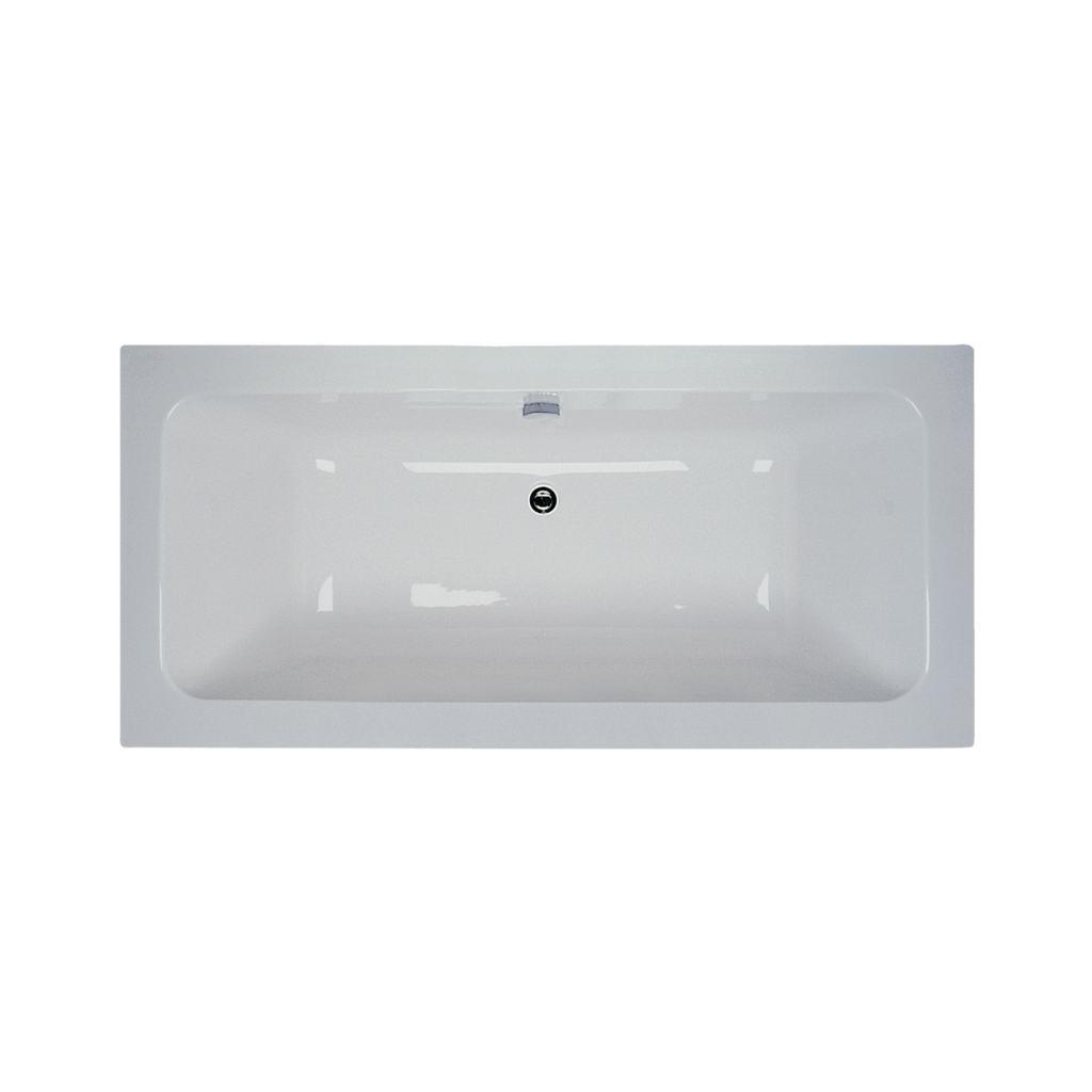 Cube 170x80cm Idealform Plus+ Double Ended Bath