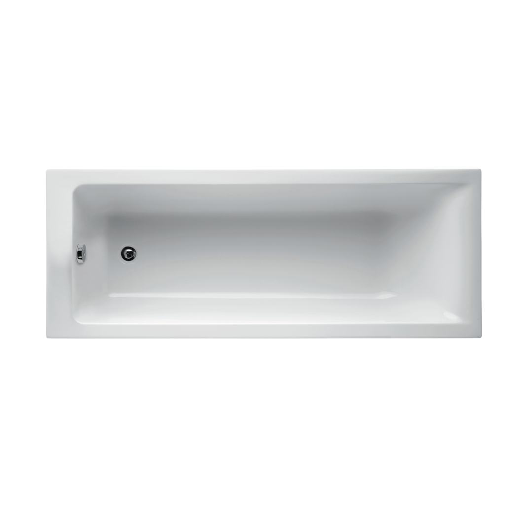 180 x 70cm Rectangular Idealform Bath with no tapholes