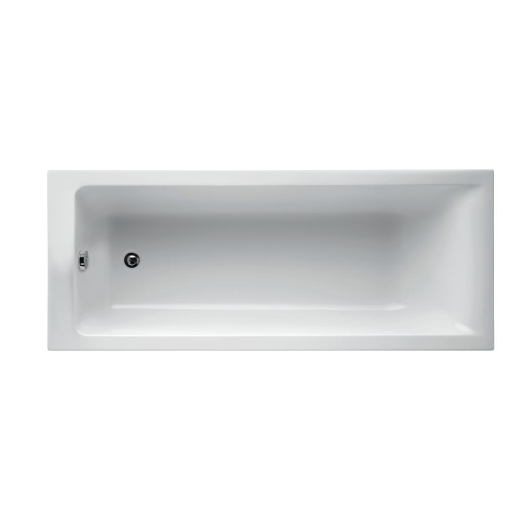 180 x 80cm Rectangular Idealform Plus+ Bath with no tapholes
