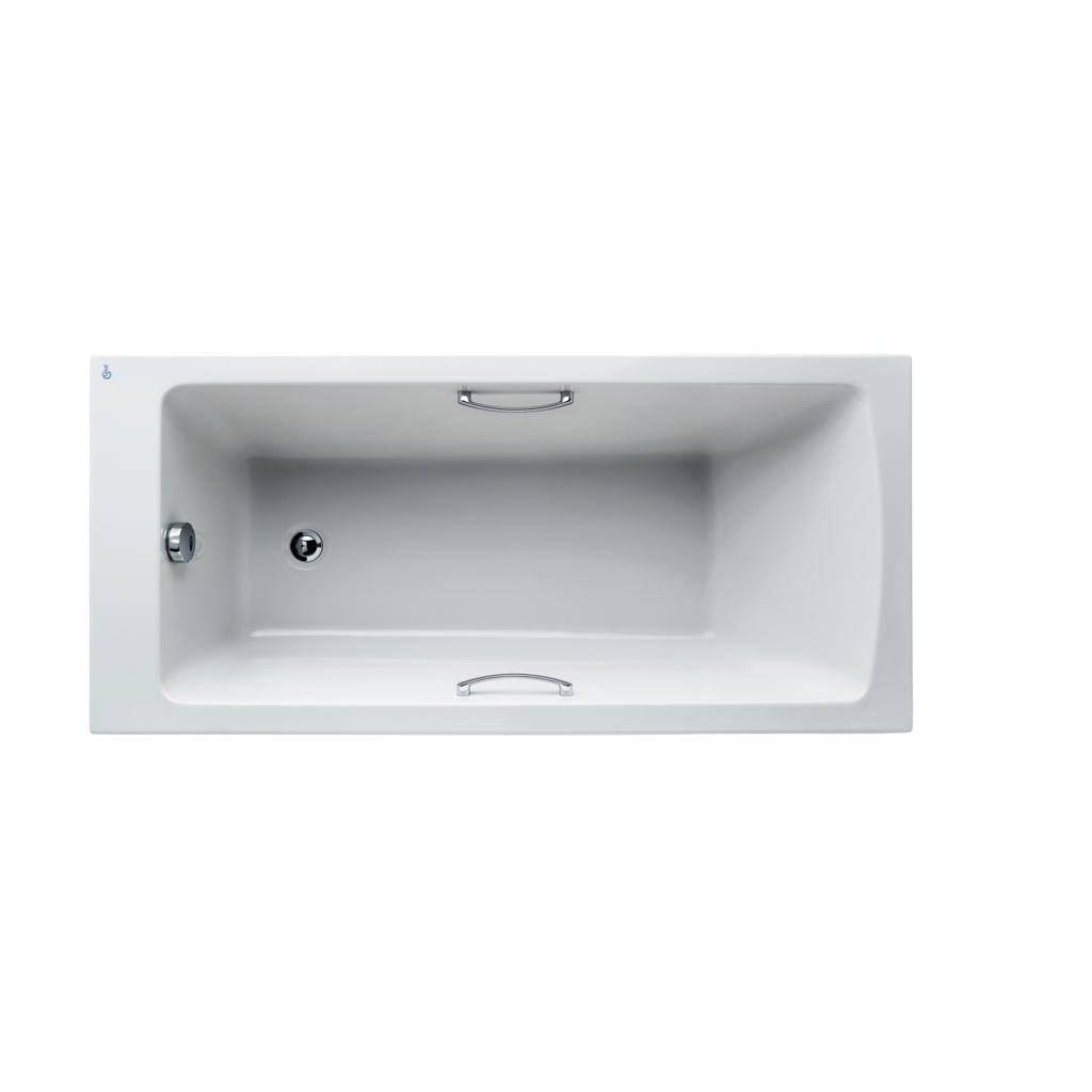 Arc 150x70cm Idealform Plus+ Rectangular Bath with grips