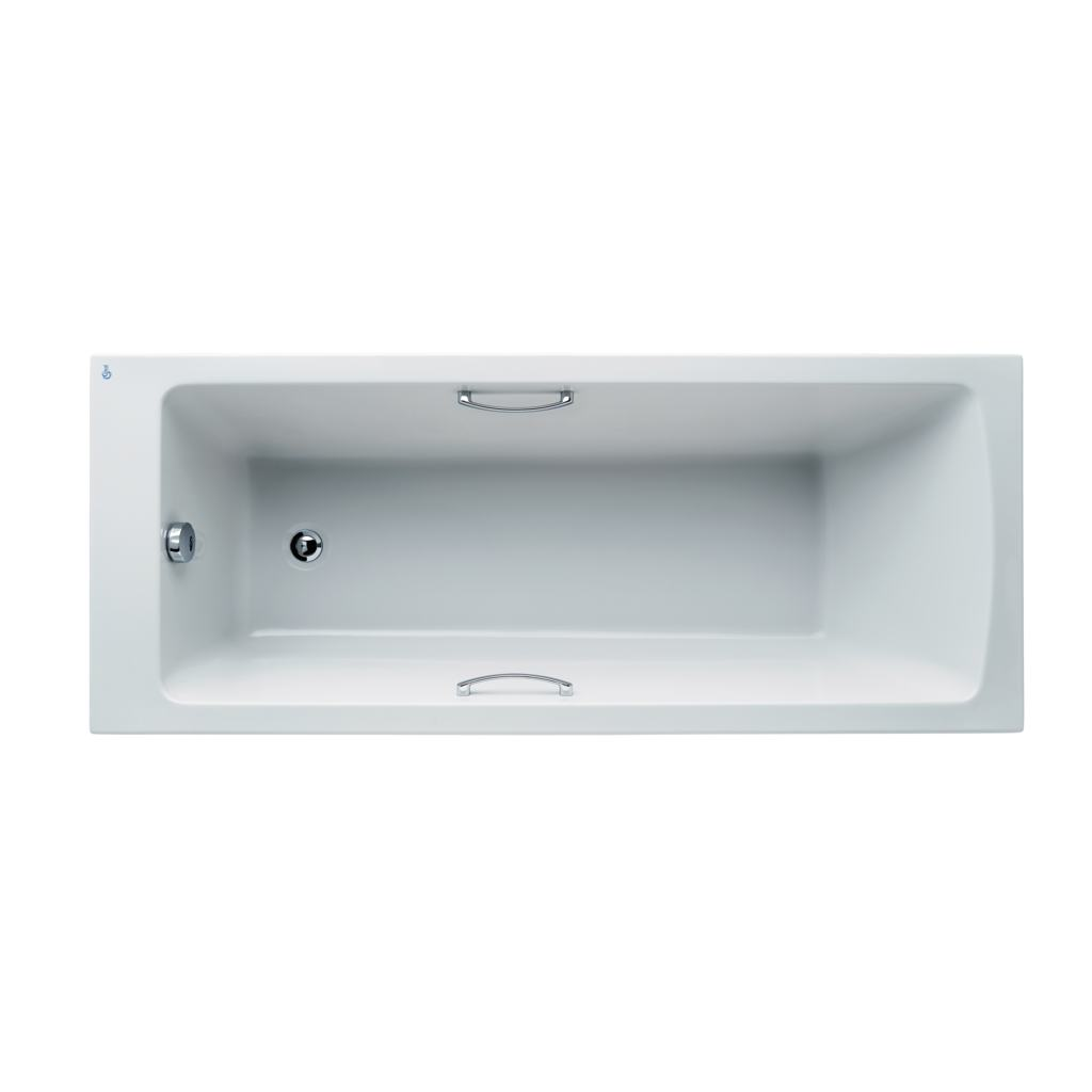 Arc 170x70cm Idealform Plus+ Rectangular Bath with grips