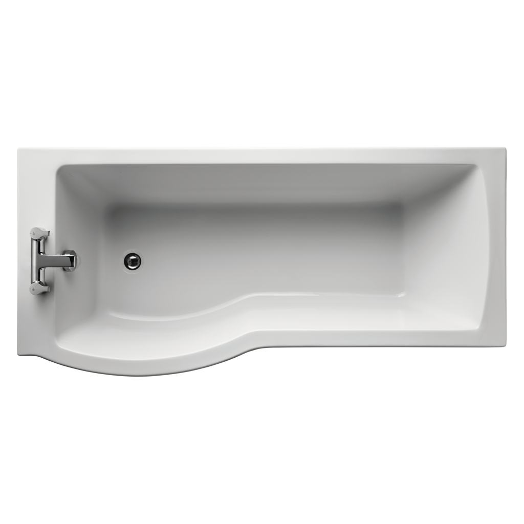Arc 170cm Idealform Plus+ Shower bath, left hand