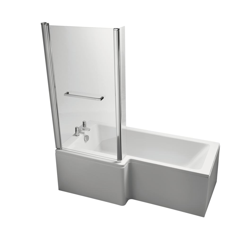 170cm Cube Shower Bath Front Panel
