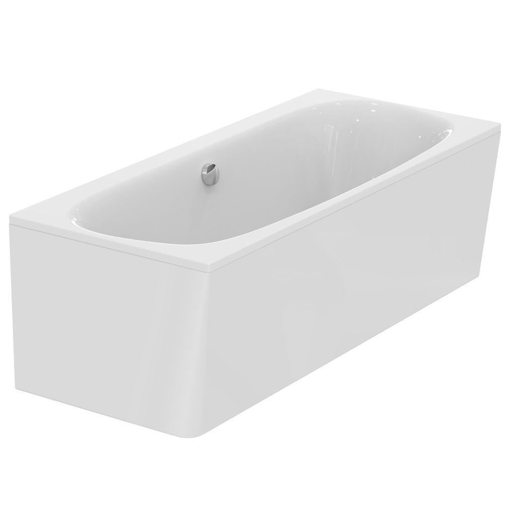 180x80cm Double Ended Bath, Idealform Plus+