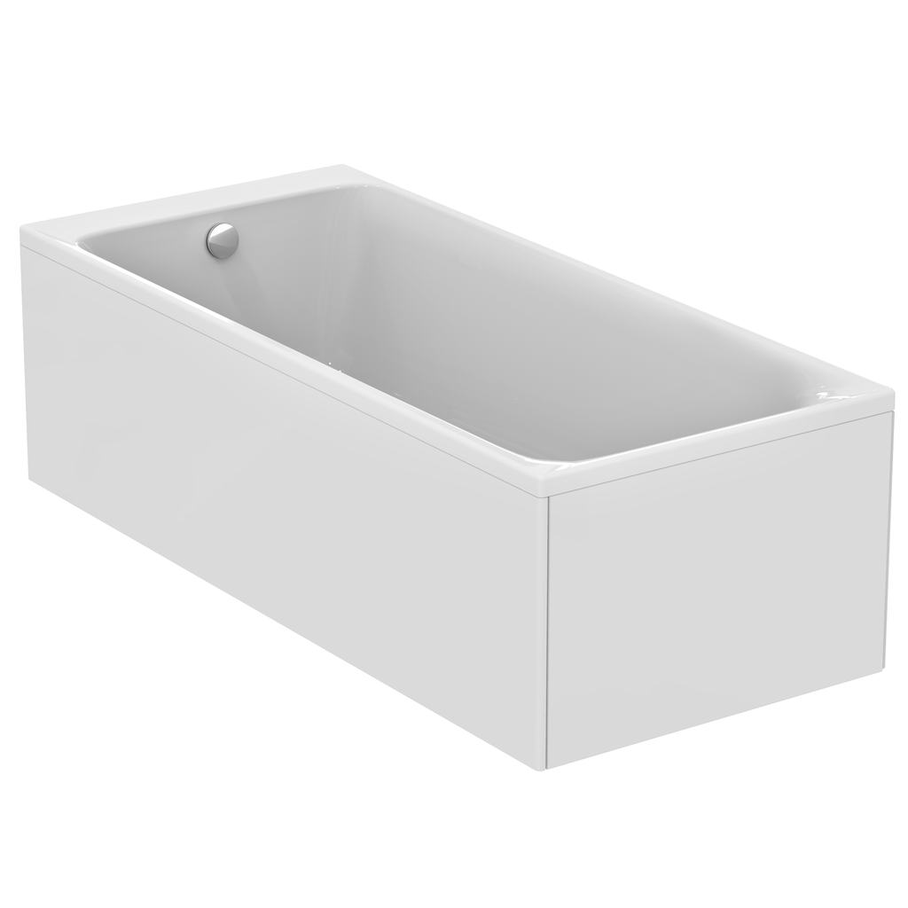 180x80 bath white including waste